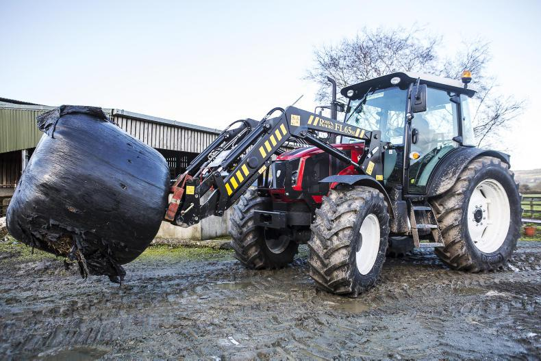 Tractor test day at Kildalton College in Piltown, Co Kilkenny \ Philip Doyle