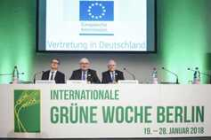 Germany's Green Week: a global Ploughing