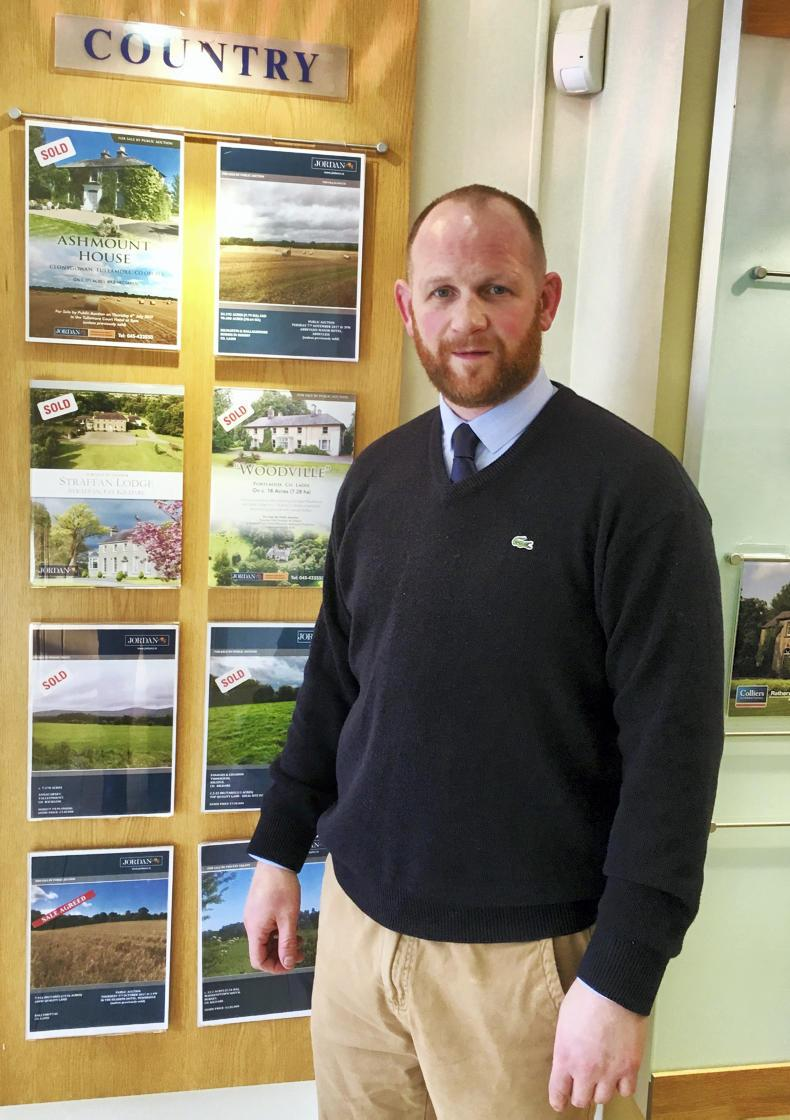 Clive Kavanagh is an auctioneer in Jordan's Town and Country Estate Agents