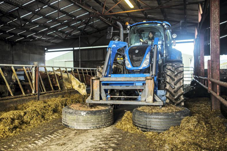 Tractor Test day with  at Kildalton College in Piltown Co. Kilkenny. \ Philip Doyle