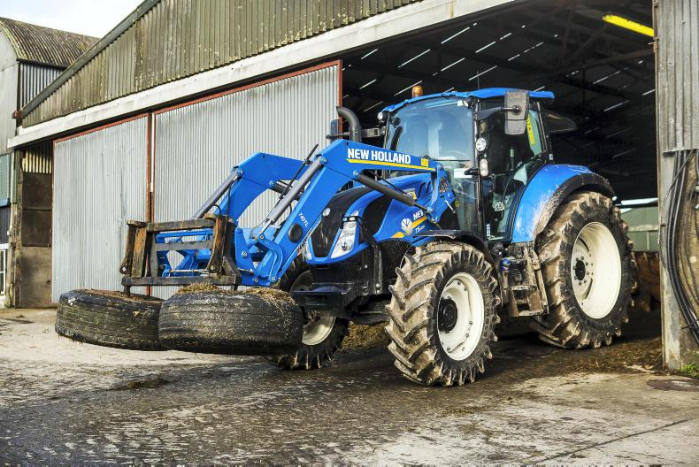 Tractor test day with Michael Collins at Kildalton College in Piltown, Co Kilkenny. \ Philip Doyle