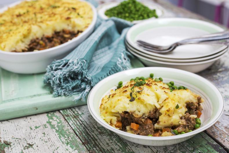 Nevin Maguire's Shepard's Pie. \ Photo by Philip Doyle. Food stylist: Sharon Hearne Smith.