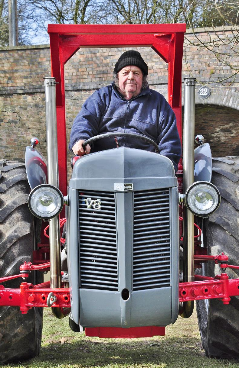 Retired engineer and small-holder Roger Twigger, spent 18-months building his Ferguson V8, during which time the entire tractor was completely overhauled, refurbished and customised.