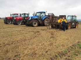 Feed efficiency trial continues amidst the long freeze