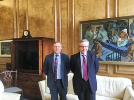 Creed and Gove discuss bi-lateral trade