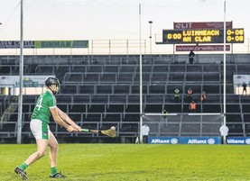 GAA's schedule goes out the window