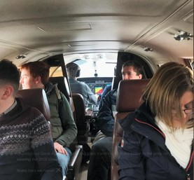 Private plane for UCD students – a sign of the times?