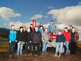 Revving up: €50,000 target for Dublin to Mayo tractor run