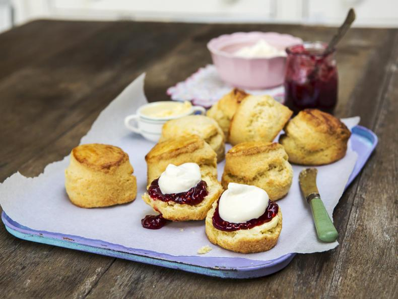 Neven Maguire's scrumptious buttermilk scones. \ Philip Doyle