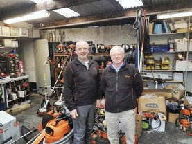 54 years of chainsaw experience in west Wicklow