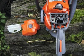A safe spring clean with your chainsaw