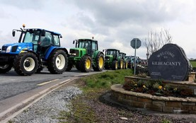 This week in photos: Kilbeacanty tractor run and the Dublin to Mayo tractor run