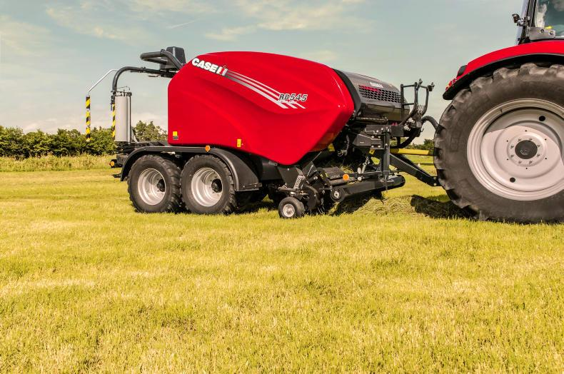 Record-breaking four-cylinder and upgraded round balers from