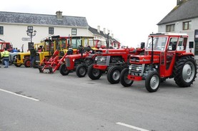 In pictures: world record parade of Ferguson, Massey-Harris and Massey tractors