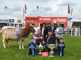 In pictures: history made at 150th Balmoral Show