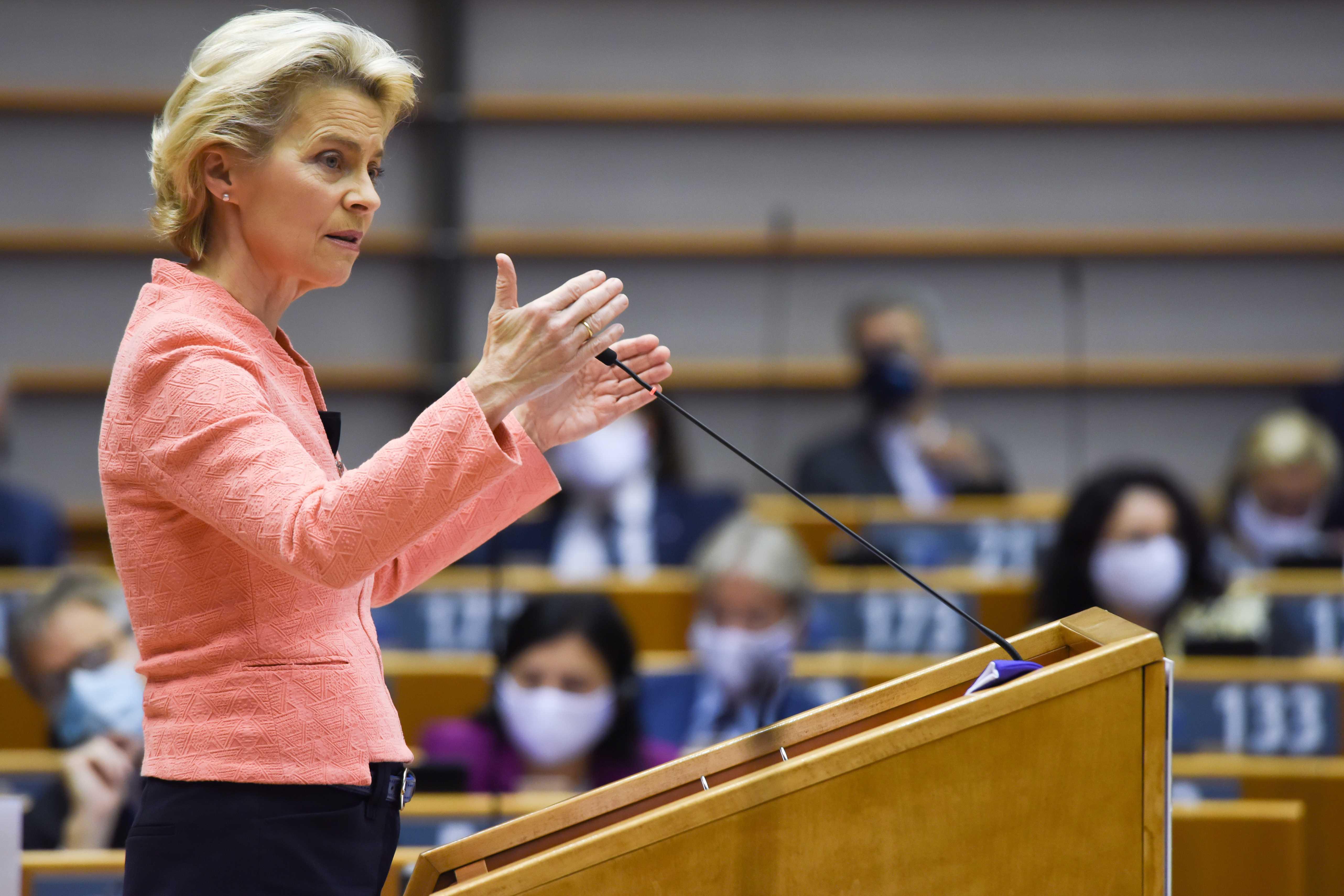 Von Der Leyen Aims For A Carbon Neutral Continent By 2050